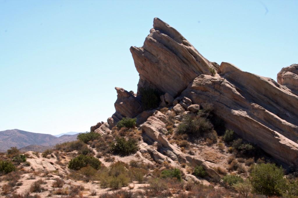 Eine beliebte Kulisse für Film und TV: Die Vasquez Rocks Foto: Christian Hinze