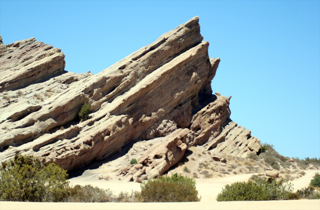 Die berühmten Vasquez Rocks  in den Sierra Pelona Mountains Foto: Christian Hinze