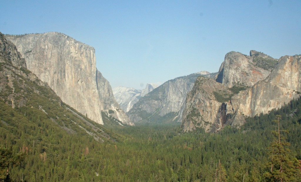 Tunnel View im Yosemite Nationalpark.