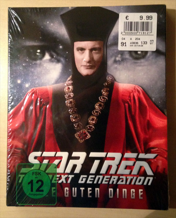 "Star Trek: The Next Generation ""Gestern, heute, morgen"" Blu-ray"