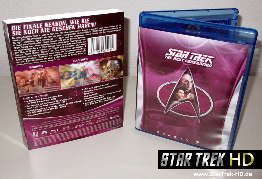 Star Trek: The Next Generation Season 7 Blu-ray Cover