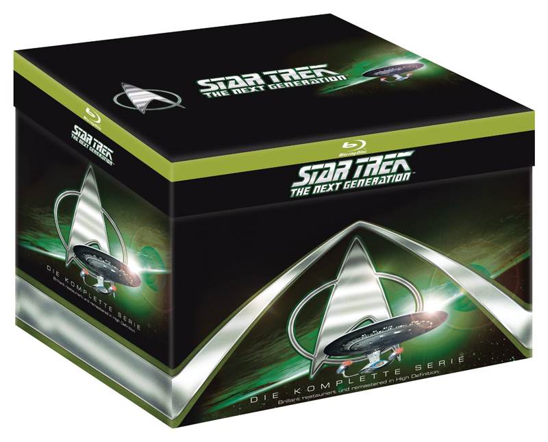 Star Trek: The Next Generation Complete Box (Blu-ray) als Limited Edition bei Amazon.de