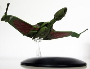"""Der klingonische Bird-of-Prey aus der """"Offizielle Raumschiffsammlung"""" (Foto: Star Trek HD)"""