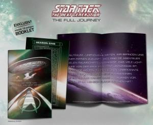 Booklet aus der deutschen Limitied Edition Box (Abbildung: Amazon.de)