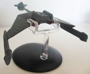 Schlachtkreuzer der K't'inga-Klasse von Eaglemoss.