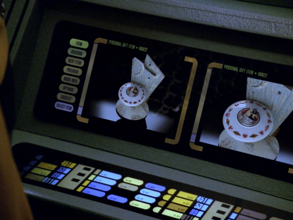 Star Trek: The Next Generation - Data's Tag (Data's Day) Blu-ray Screencap © CBS/Paramount