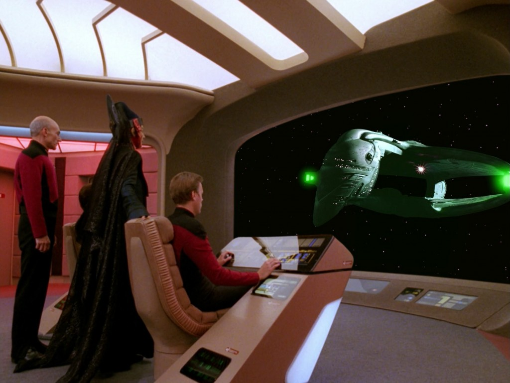 Star Trek: The Next Generation - Data's Tag (Data's Day) Blu-ray Screencap © CBS/Paramou