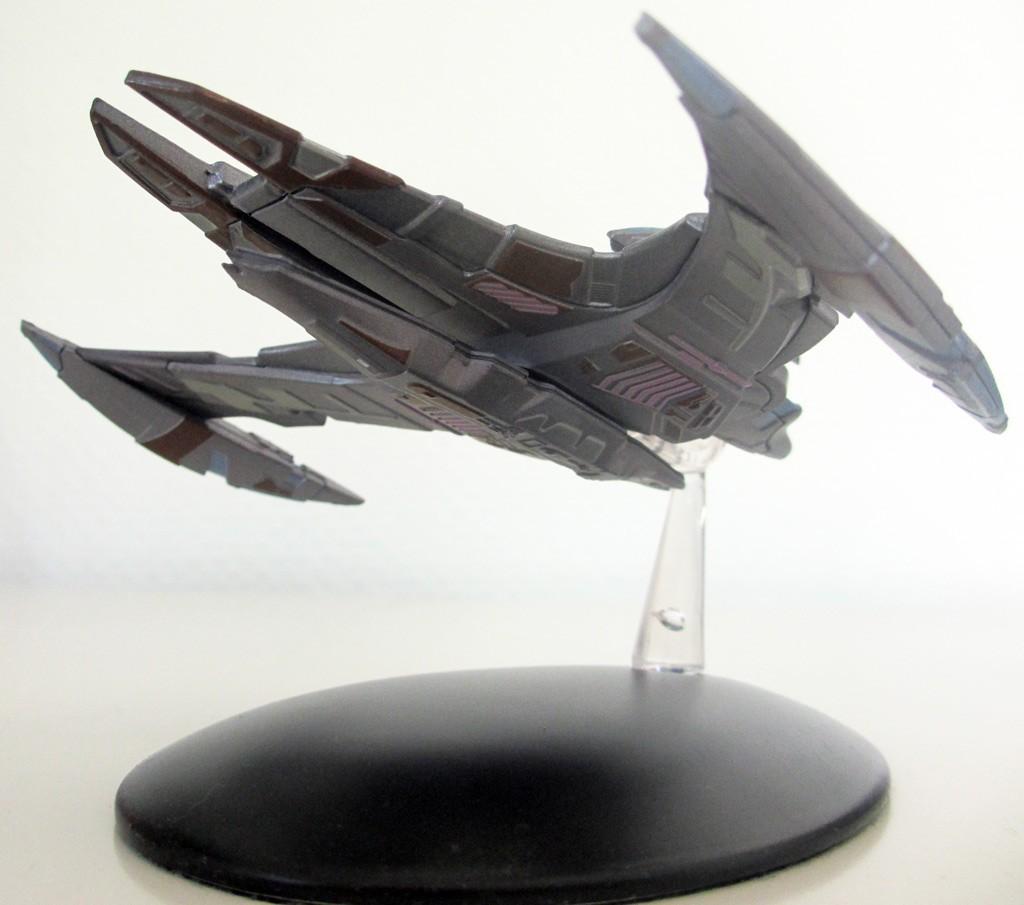 Der Schlachtkreuzer der Jem'Hadar aus der Kollektion von Eaglemoss. (Foto: Star Trek HD)