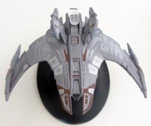 """Der Jem'Hadar Schlachtkreuzer aus der Serie """"Star Trek: Deep Space Nine"""" (Foto: Star Trek HD)"""