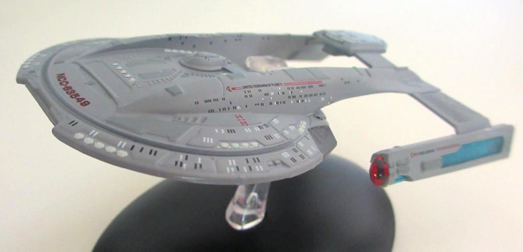 Die USS Thunderchild aus der Kollektion von Eaglemoss. (Foto: StarTrek HD)