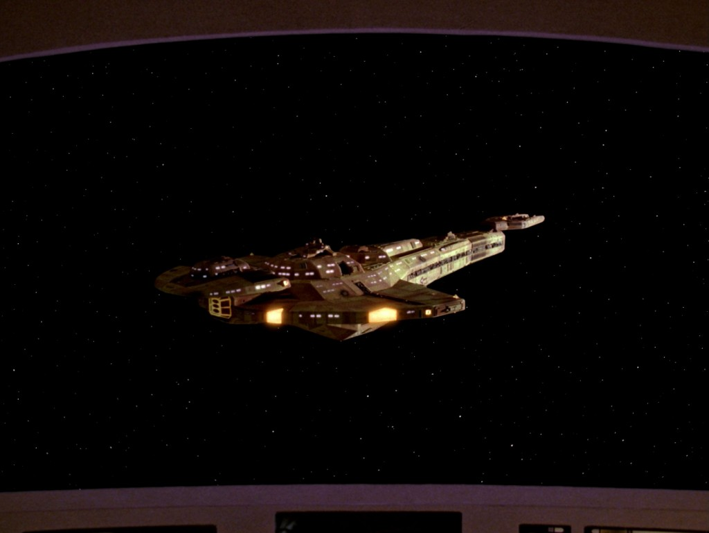 Star Trek: The Next Generation - Der Rachefeldzug (The Wounded) Blu-ray Screencap © CBS/Paramount