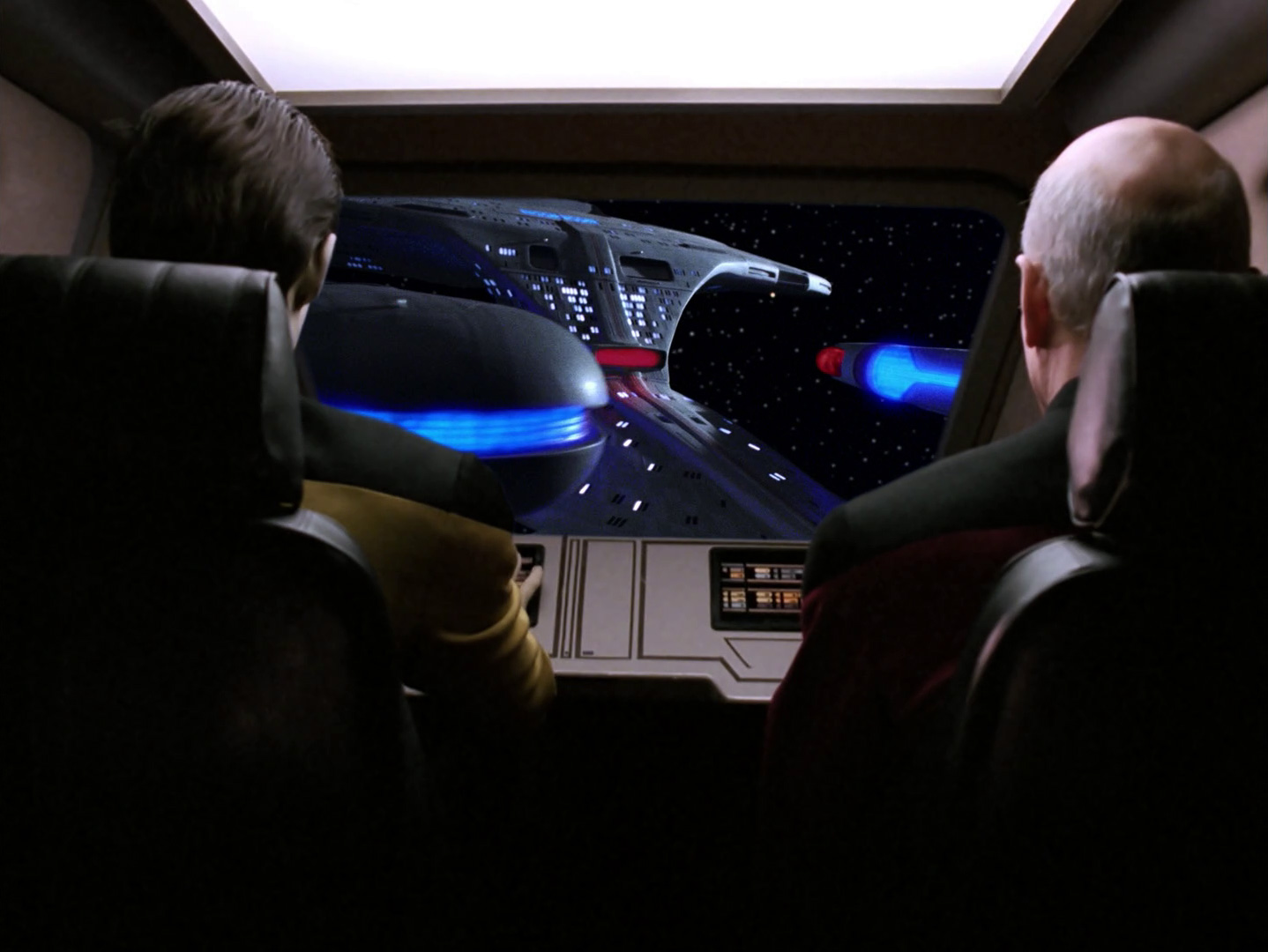 Star Trek: The Next Generation - Der Pakt mit dem Teufel (Devil's Due) Blu-ray Screencap © CBS/Paramount
