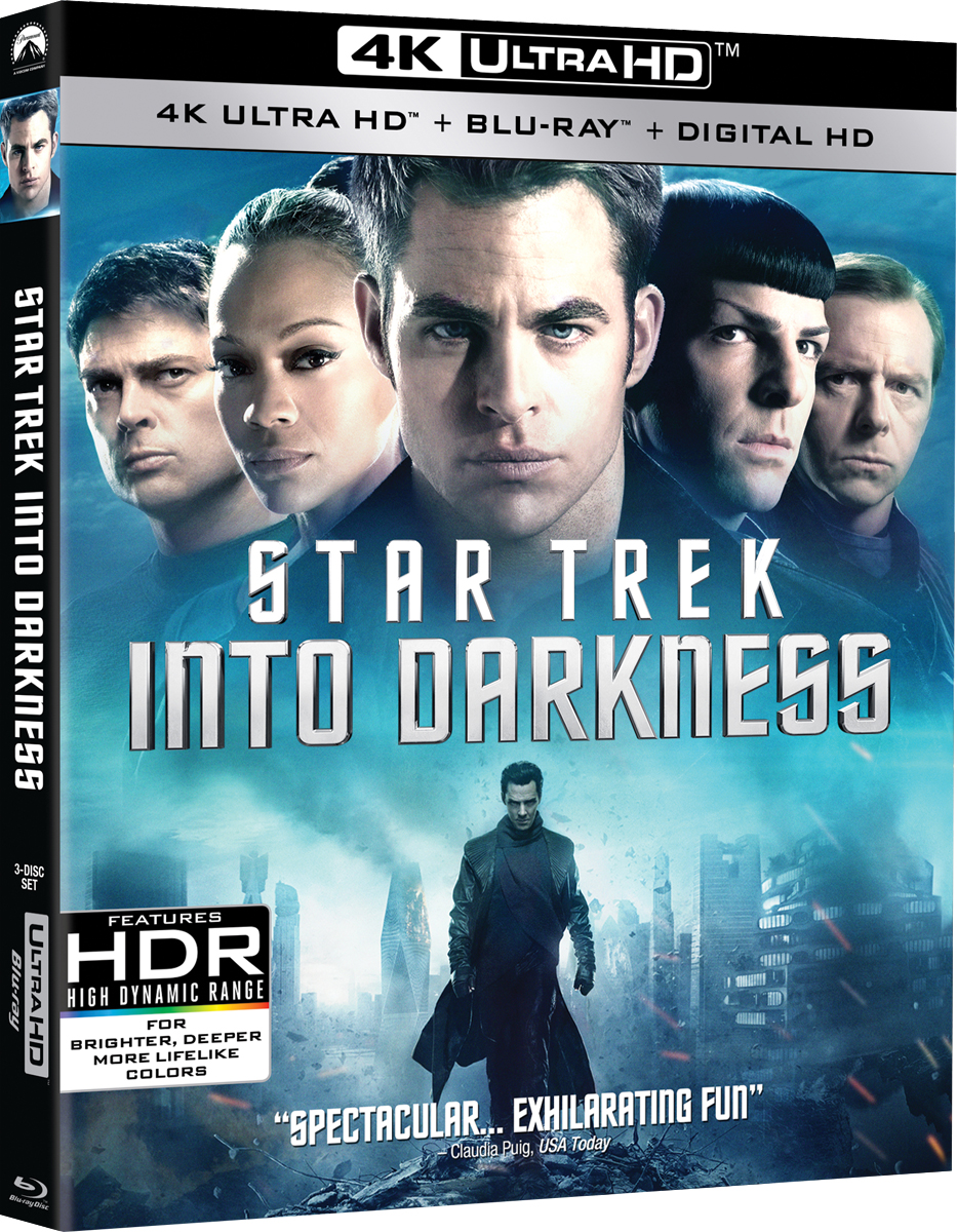 Star Trek Into Darkness 4K UHD Blu-ray Coverart
