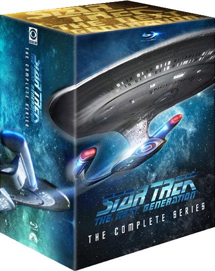 Die remasterten TNG-Staffeln erscheinen in einer neuen Box.