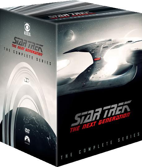DVD-Box mit allen remasterten TNG-Folgen.