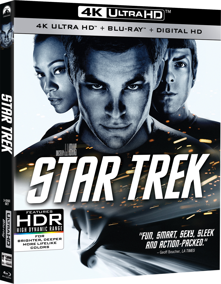 Star Trek 4K UHD Blu-ray Cover