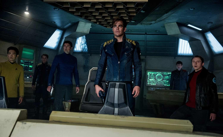 Die Crew der Enterprise auf der USS Franklin. (Foto: Paramount Pictures)