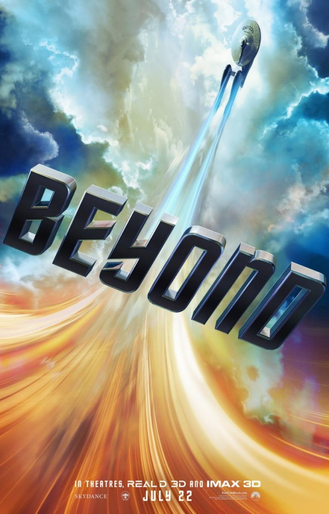 Das US-Plakat zu Star Trek Beyond.