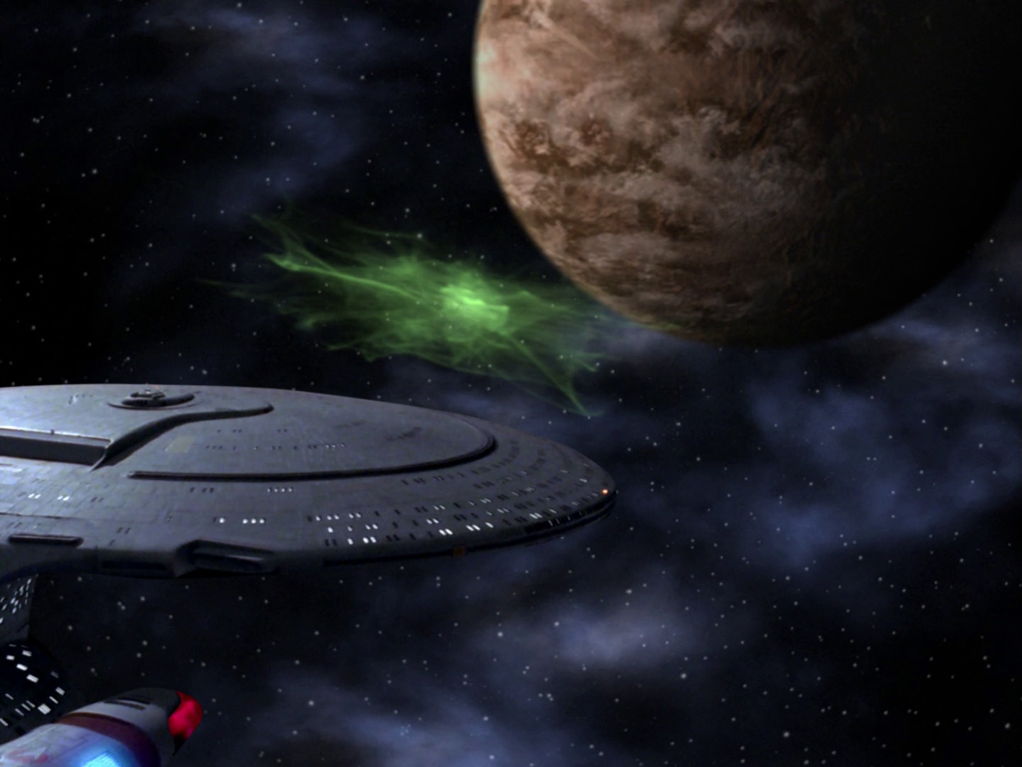 Star Trek: The Next Generation - Beweise (Clues) Blu-ray Screencap © CBS/Paramount