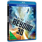 Star Trek Beyond 2D plus 3D Blu-ray