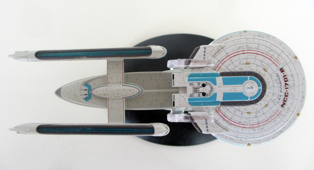 Die USS Enterprise NCC-1701-B von Eaglemoss