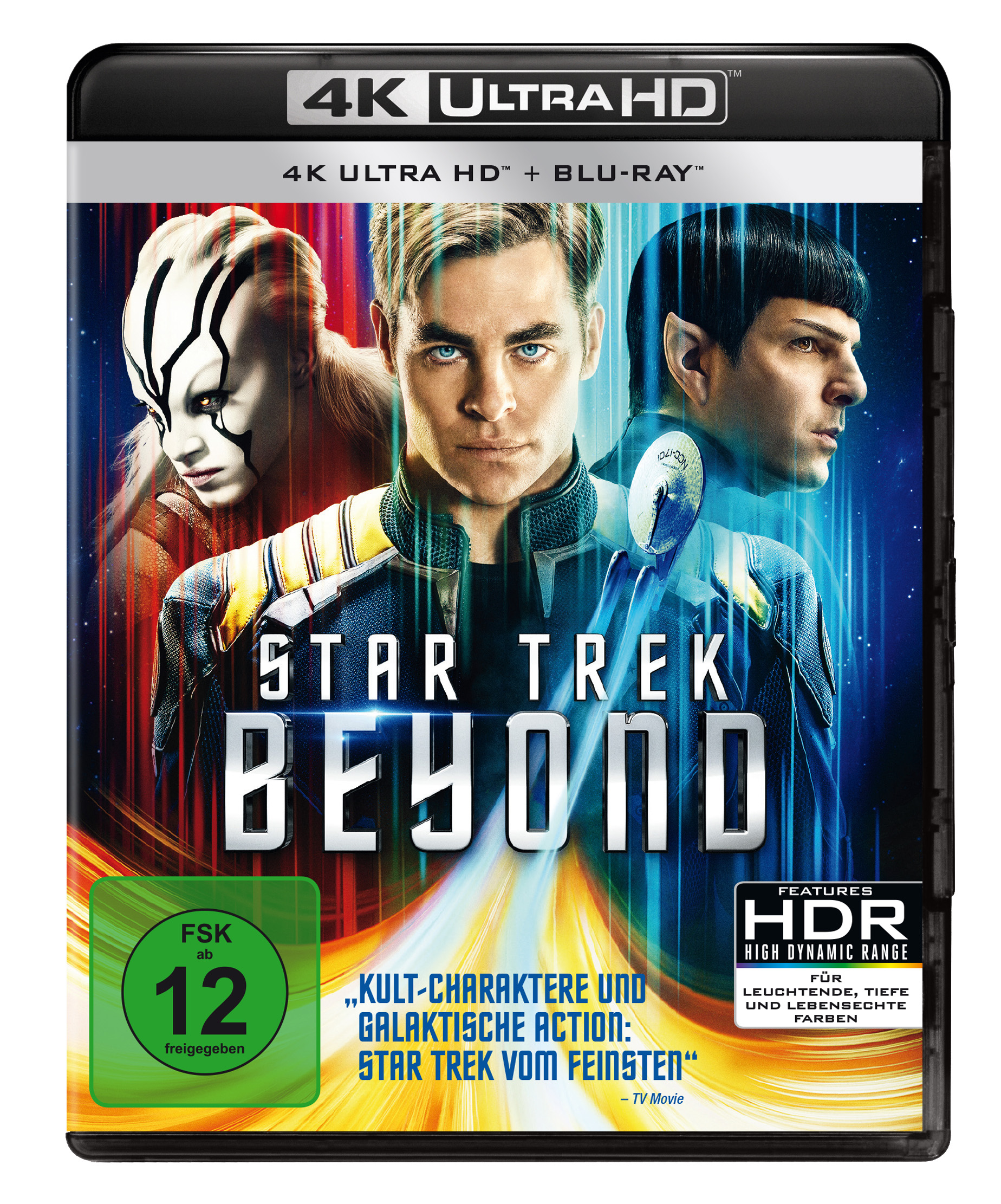 Star Trek Beyond 4K Ultra HD Cover