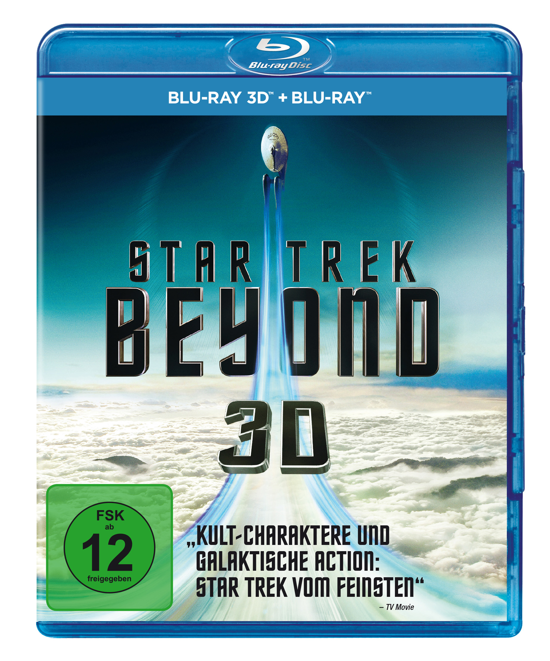 Star Trek Beyond 3D Blu-ray Cover