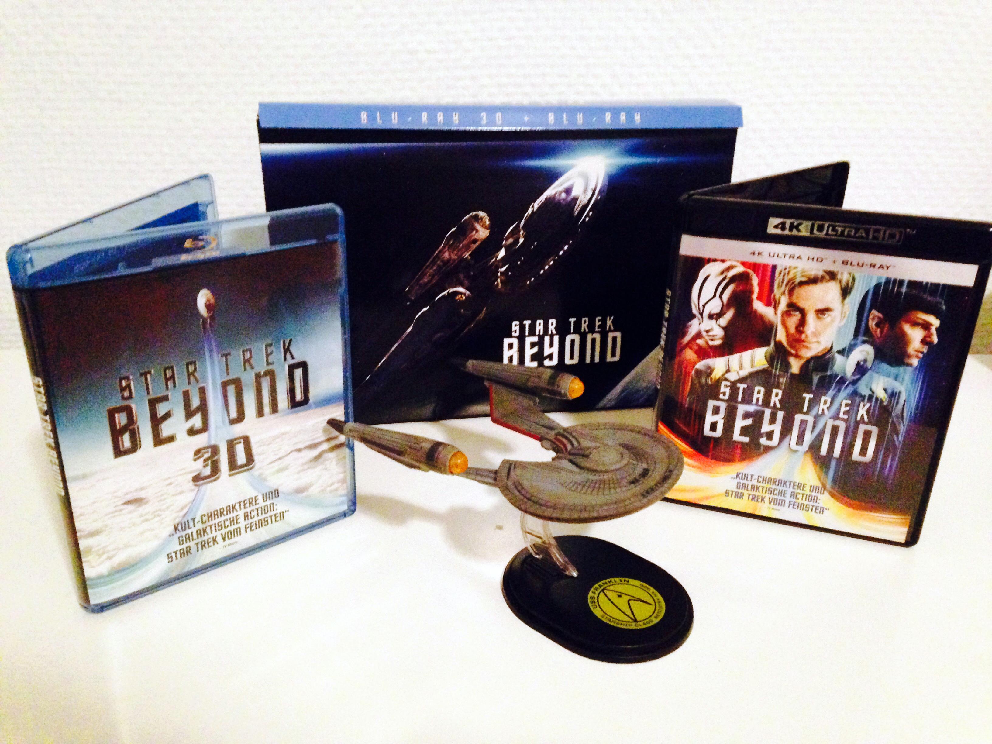 Star Trek Beyond ist Anfang Dezember in verschiedenen Formaten erschienen.