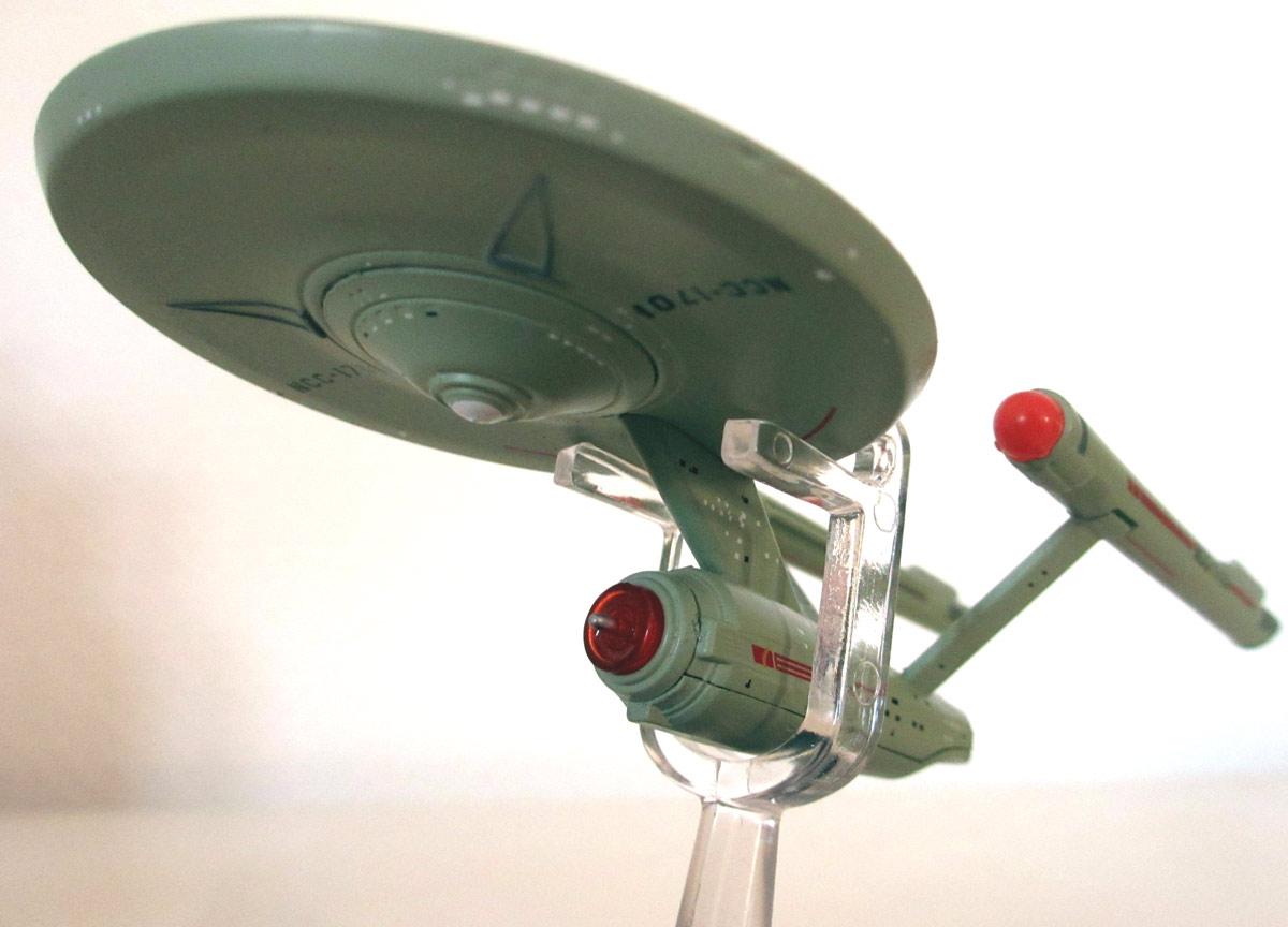 Die U.S.S. Enterprise aus Heftnummer 50.