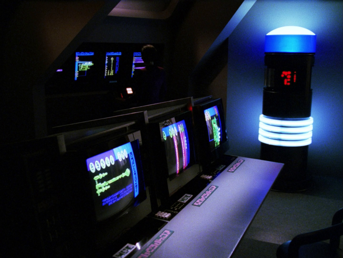"""Szene aus der remasterten Fassung von """"Erster Kontakt"""" © CBS Studios Inc"""