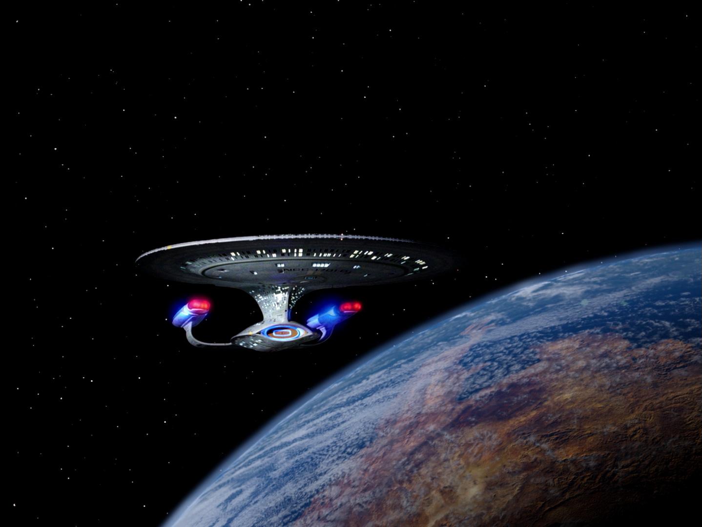 """Der Planet Malcor III aus der remasterten Fassung von """"Erster Kontakt"""" © CBS Studios Inc"""