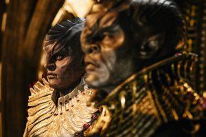 Die Klingonen T'Kuvma und L'Rell (Foto: CBS)