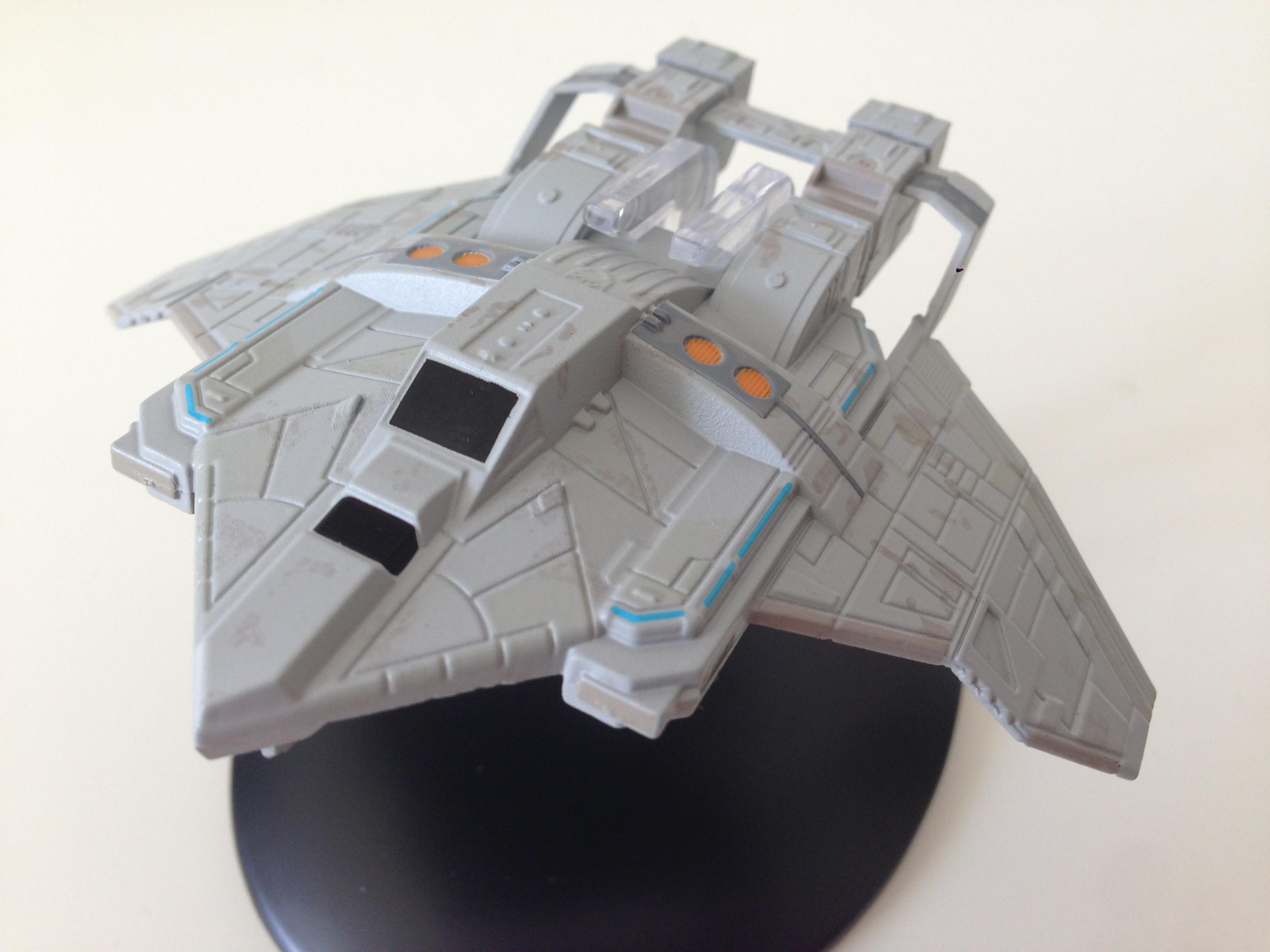 Angriffsjäger der Föderation (Foto: Star Trek HD)