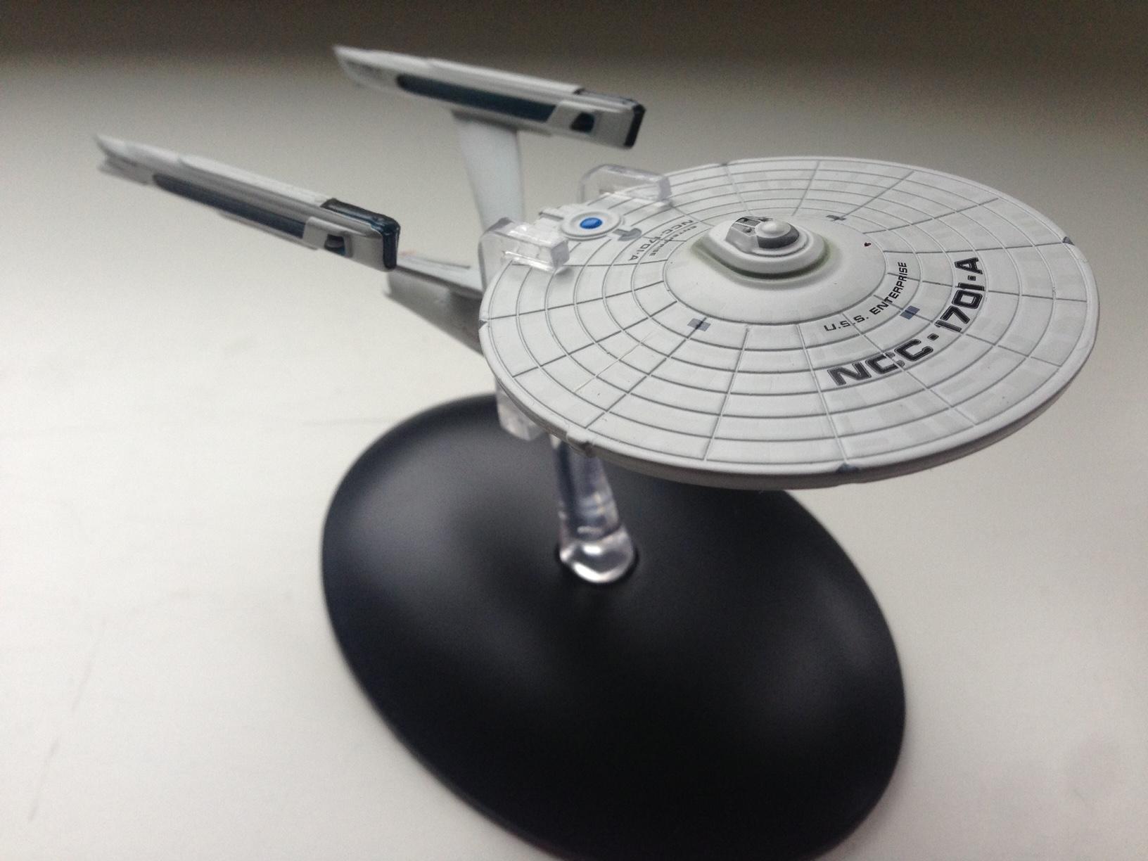Die Enterprise A von Eaglemoss Collections.