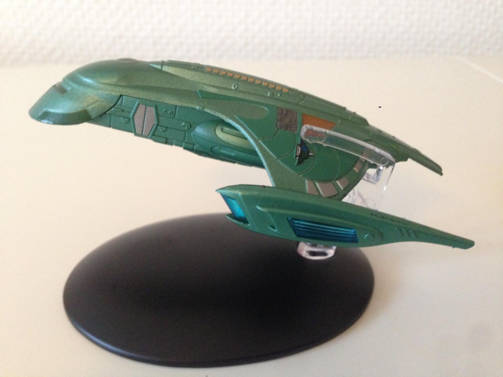 "Vreenaks Shuttle aus ""Star Trek: Deep Space Nine""."