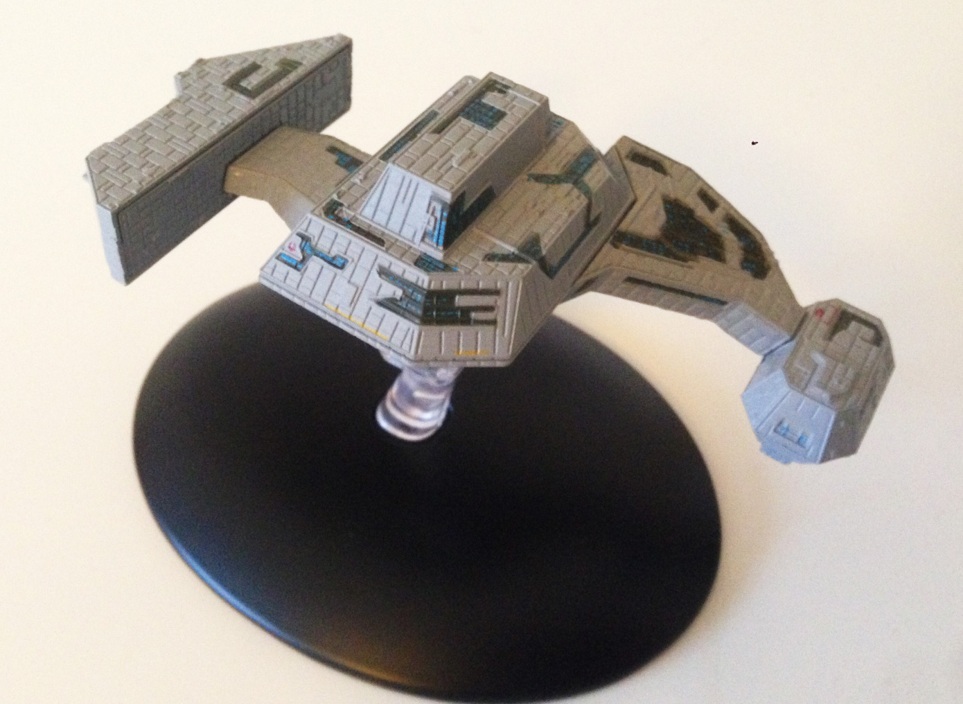 Das Borg Renegatenschiff von Eaglemoss Collections.
