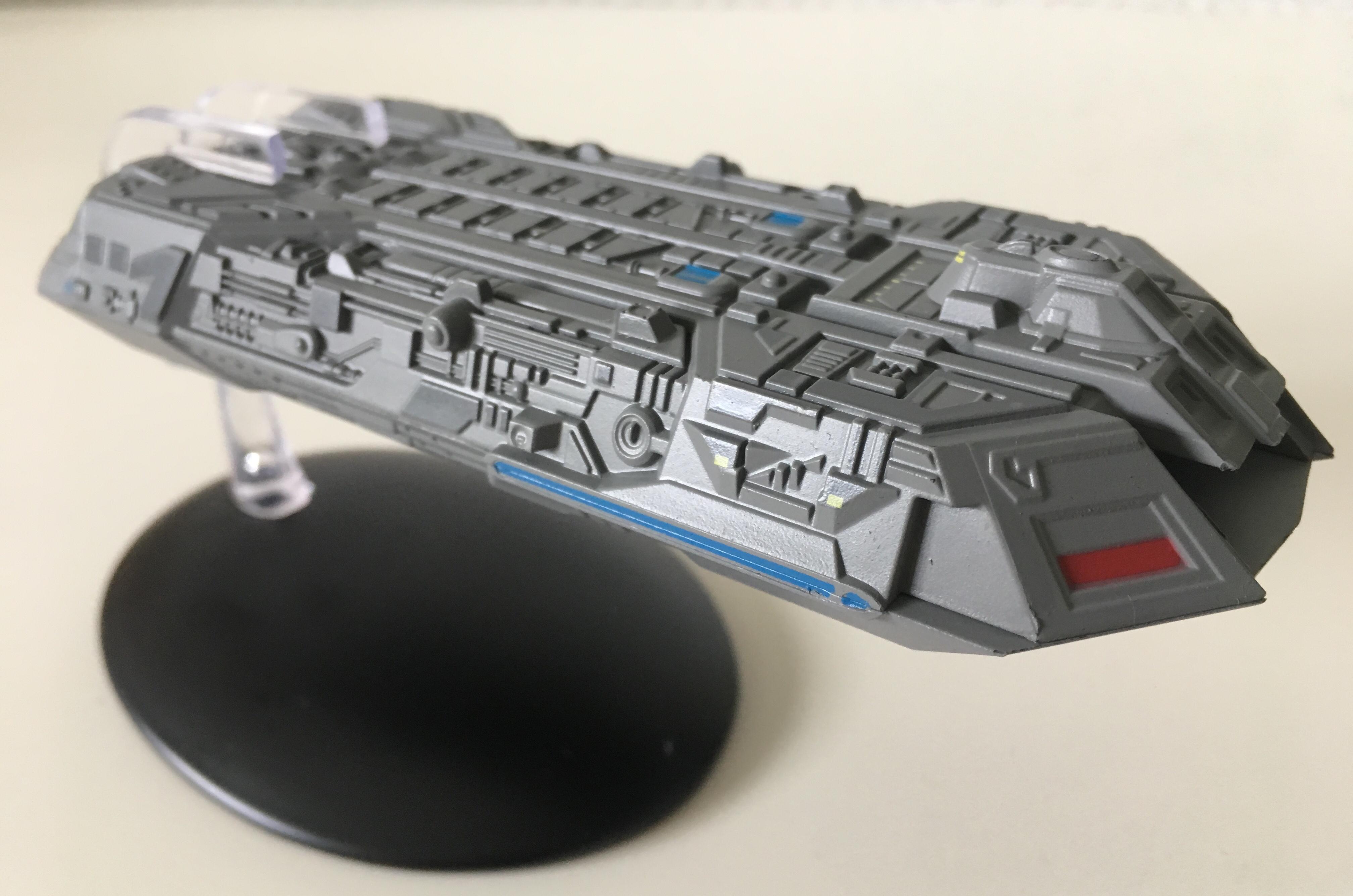Holoschiff aus Star Trek: Der Aufstand von Eaglemoss Collections
