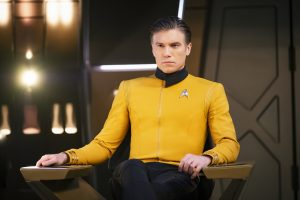Anson Mount als Captain Pikein STAR TREK: DISCOVERY. Photo Cr: Jan Thijs/CBS © 2018 CBS Interactive