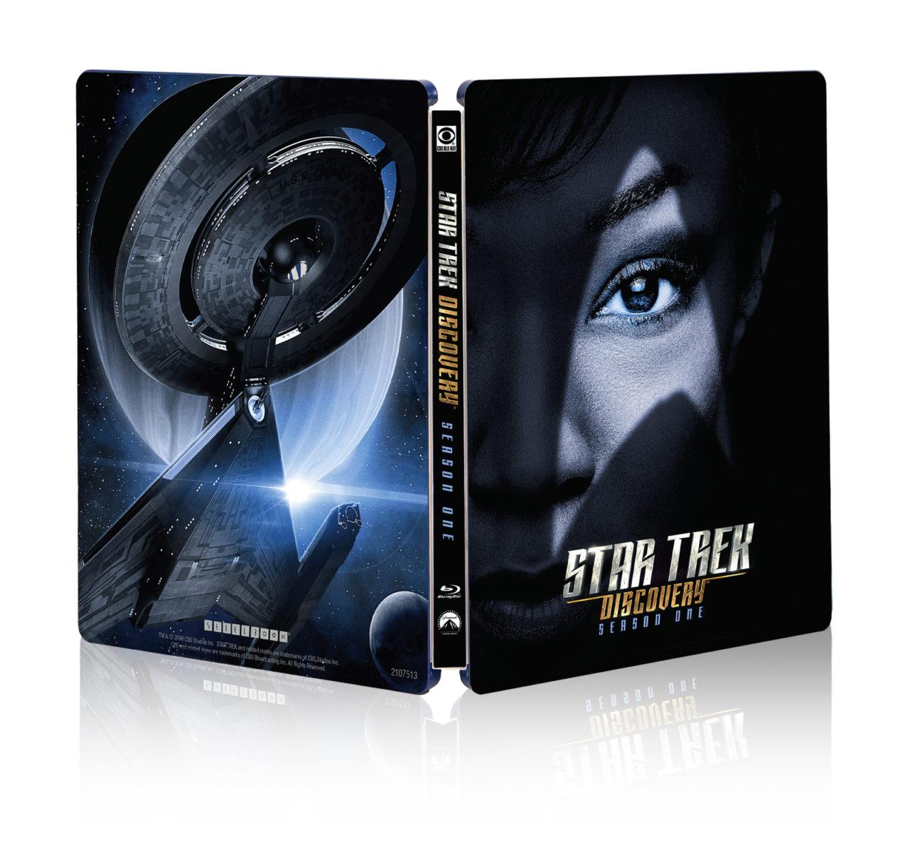Star Trek Discovery Steelbook Coverart