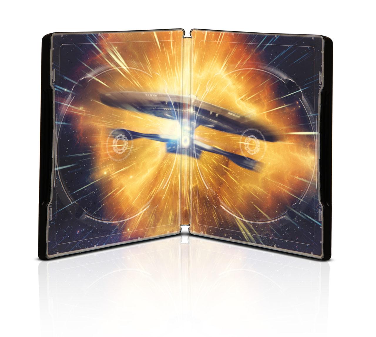 Star Trek Discovery Blu-ray Steelbook Innenansicht