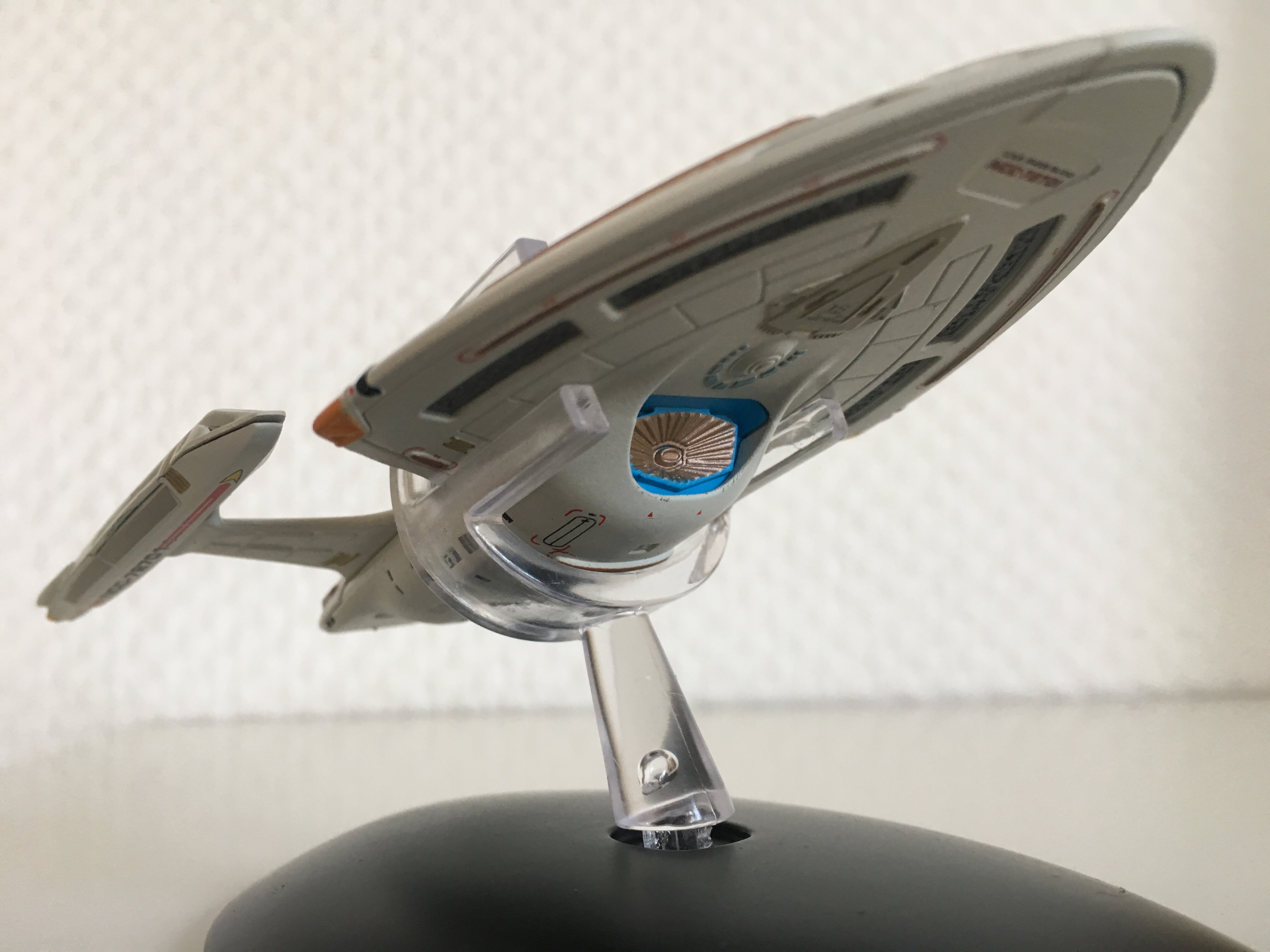 Die U.S.S. Rhode Island von Eaglemoss Collections.