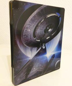 Die Discovery ziert die Steelbook Rückseite.