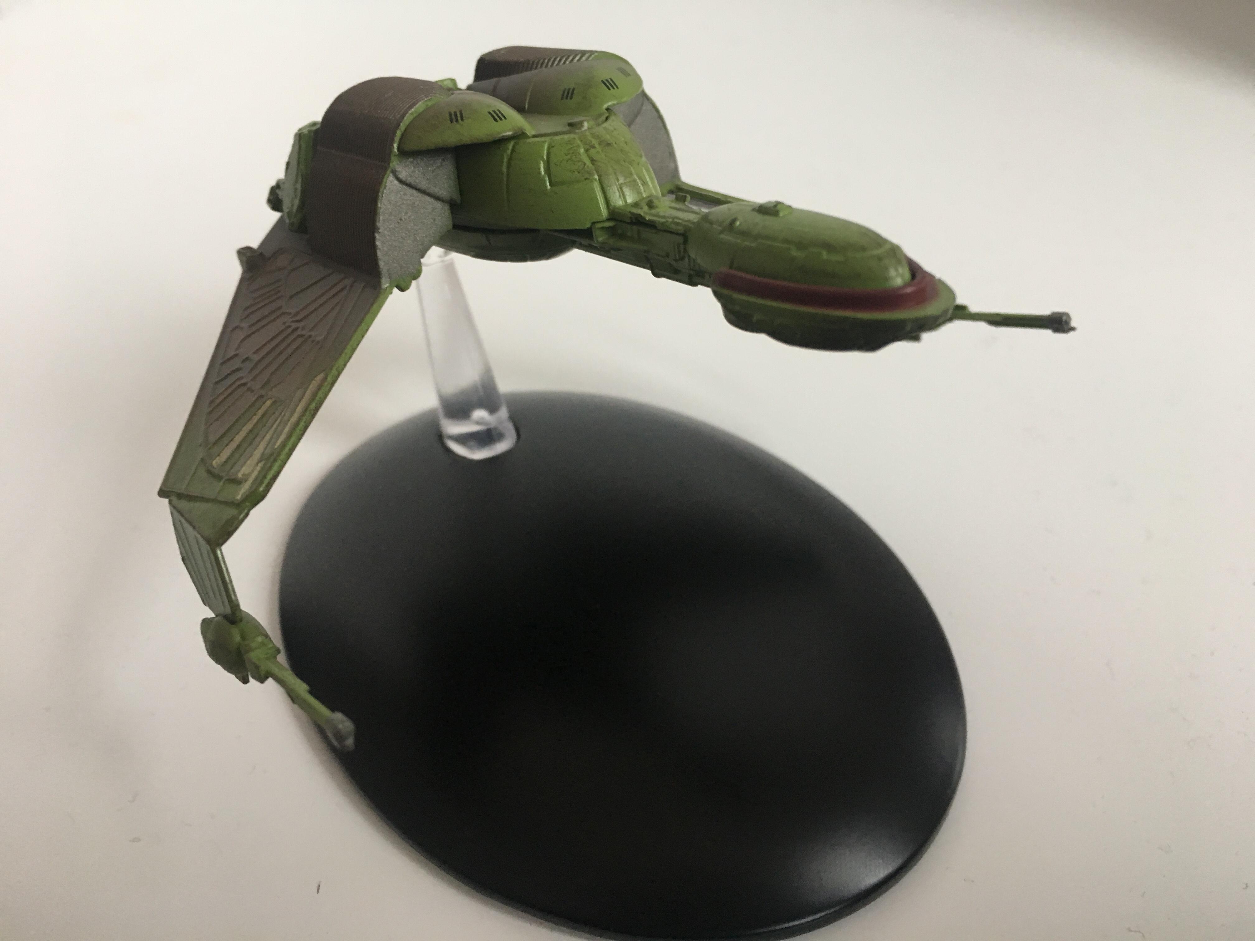 Auf Angriff gebürstet; der klingonische Bird-of-Prey Foto: Star Trek HD