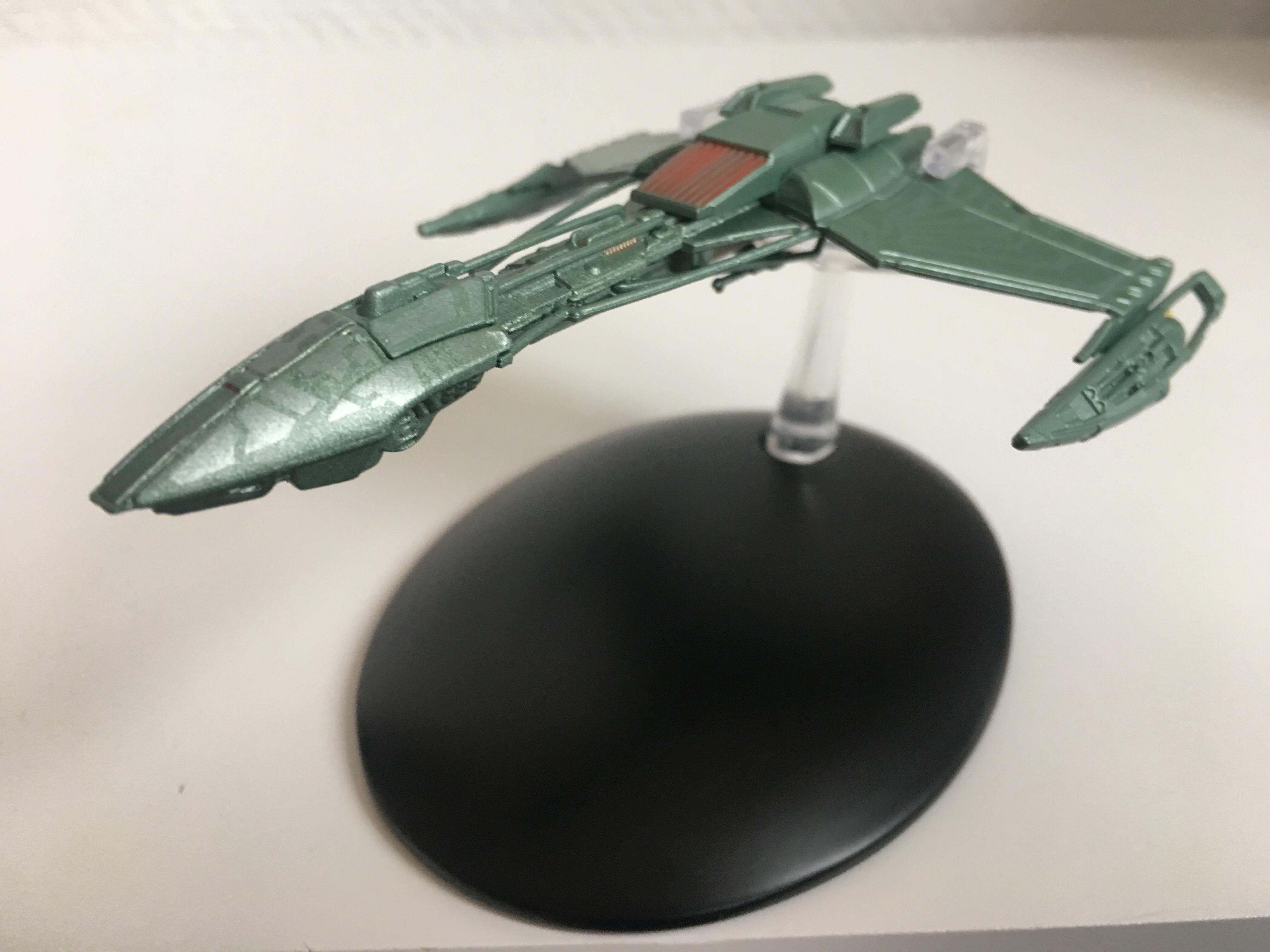 Die Spitze des D5-Kreuzers erinnert an die Valdore aus Star Trek: Nemesis, Foto: Star Trek HD