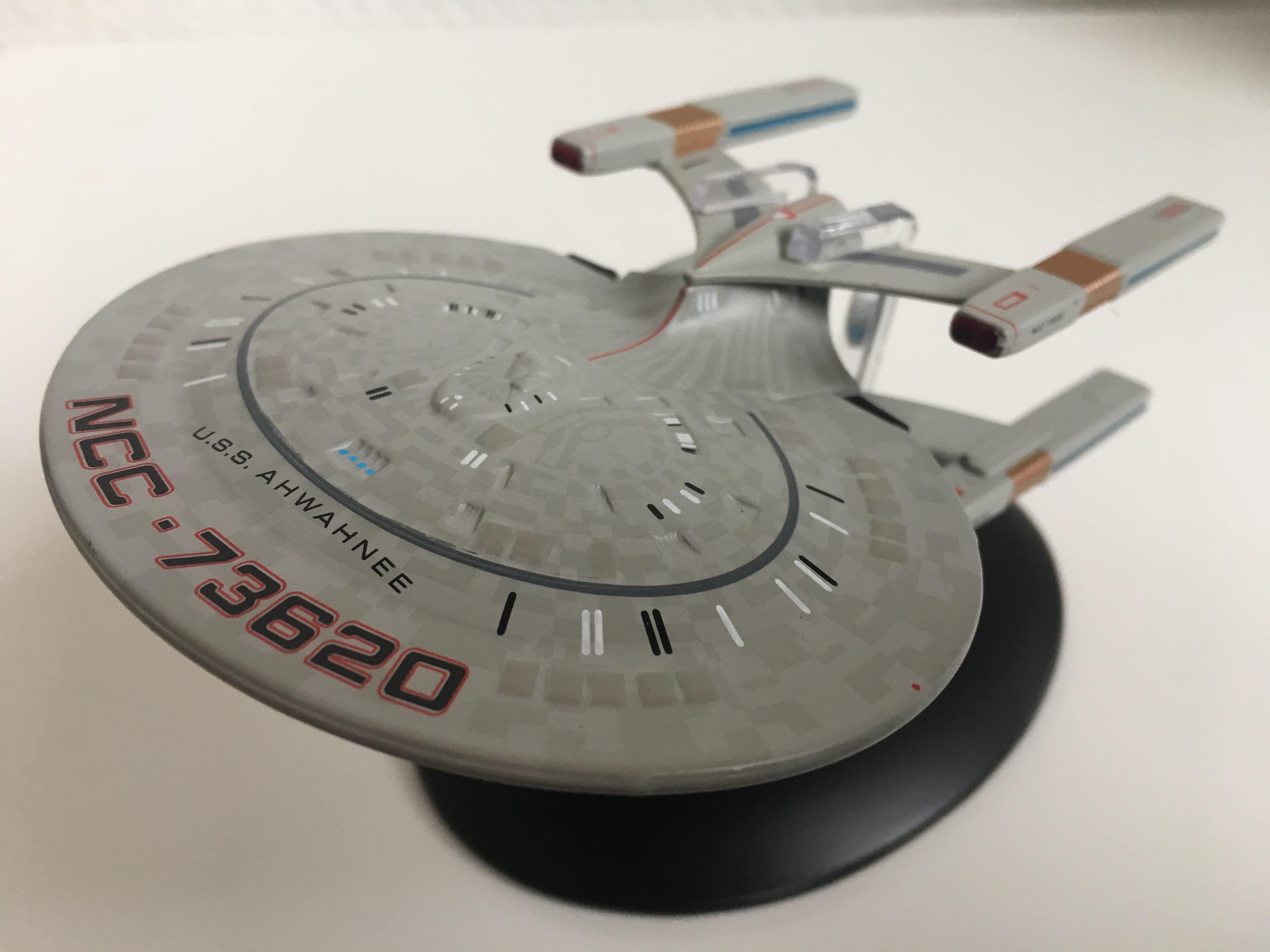 Das Schiff der Sternenflotte war bei Wolf 359 im Kampf gegen die Borg im Einsatz. Foto: Star Trek HD