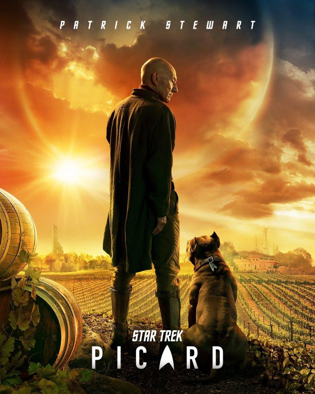 Star Trek Picard Teaser Plakat