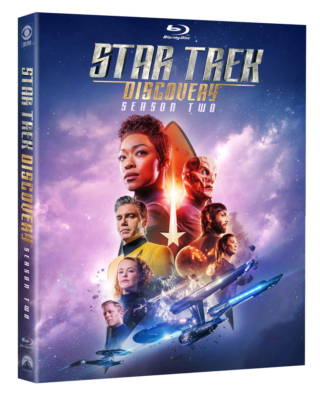 Star Trek Discovery Season 2 Blu-ray Cover