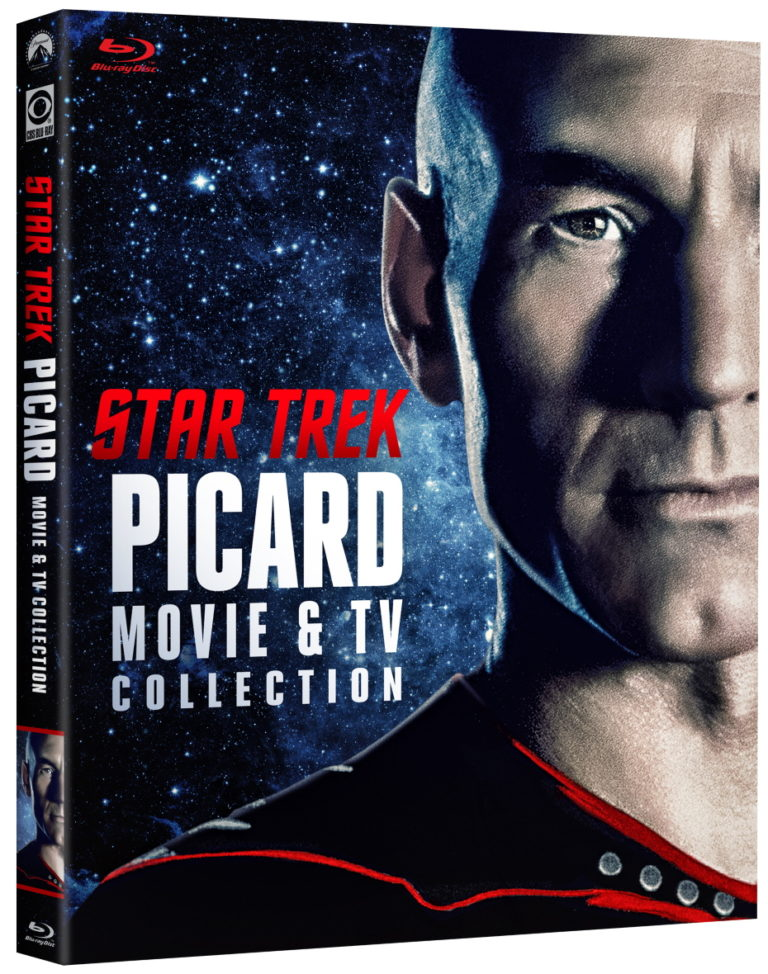Star Trek Picard TV & Movie Collection Blu-ray Cover