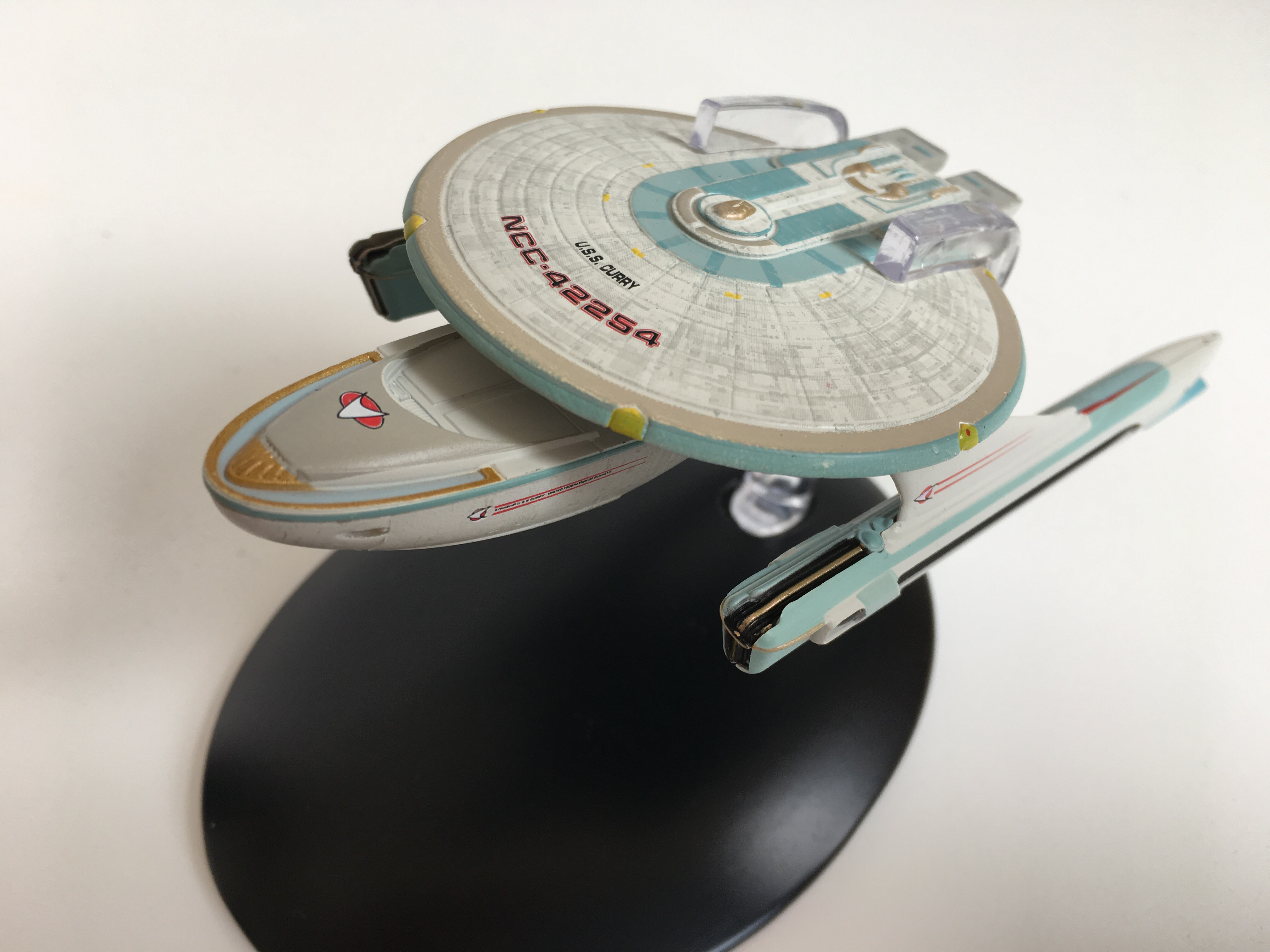 Die USS Curry als Miniaturmodell (Foto: StarTrek-HD.de)