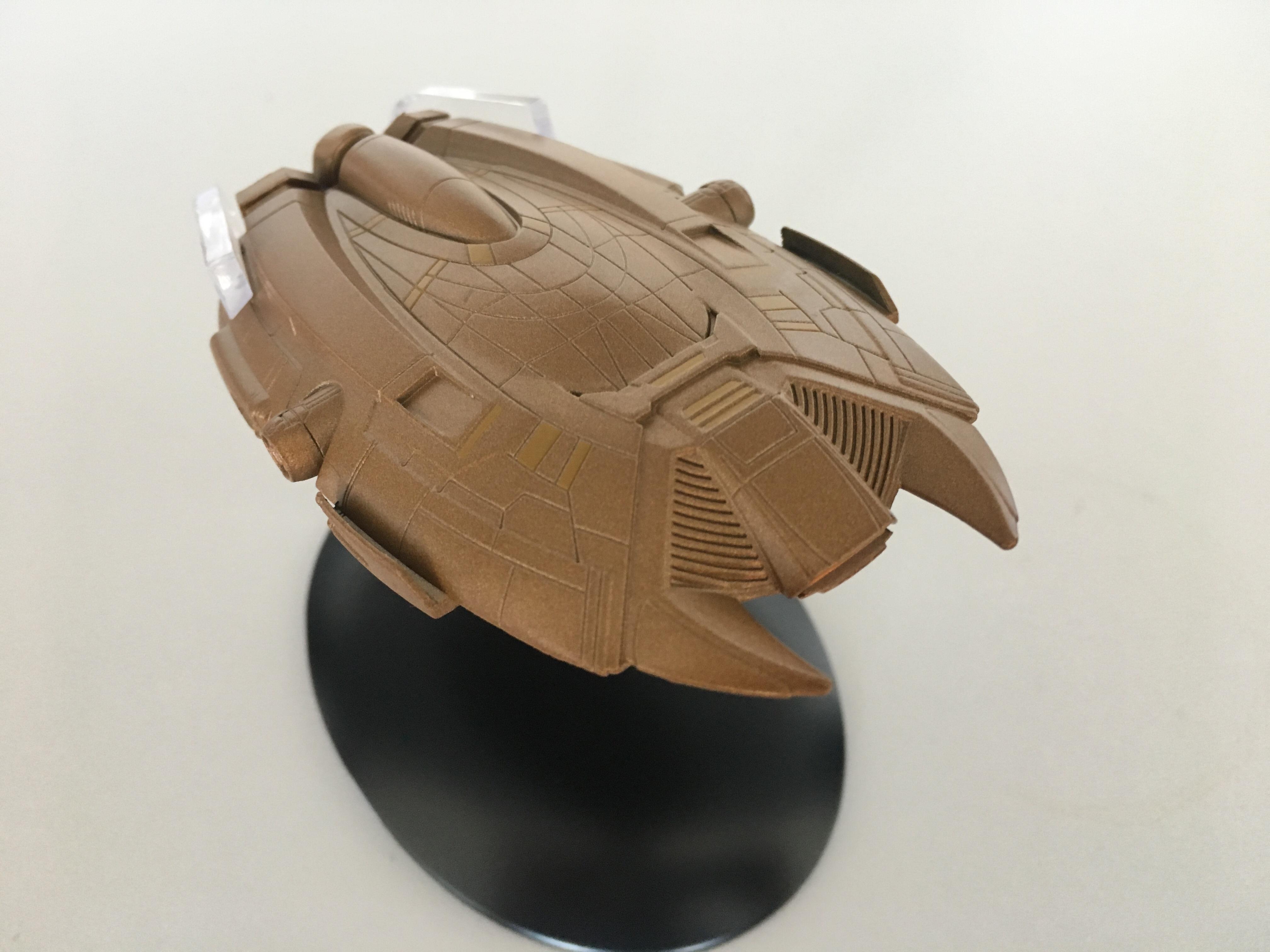 Ferengi-Raumschiff aus dem 22. Jahrhundert (Foto: StarTrek-HD.de)